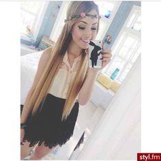 straight hair ♥