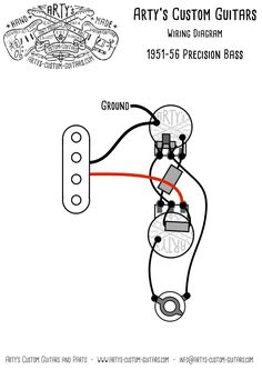 Precision Bass Wiring Diagram Rothstein Guitars %e2%80%a2 Serious Tone For The Player 1966 Mustang Ab Werk 295 Parasta Kuvaa Kytkennat G 2019 Guitar Building Seymour 1951 Standard Prewired Kit Assembly And Pre Wired Harness
