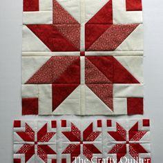 Nordic Mini Quilt Along, Row 1