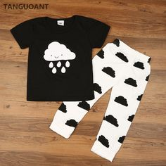 Baby Girl/Boy Clothes | Newborn Baby's Sets Clouds & Rain Print  Price: 10.00 & FREE Shipping  #maternity Baby Boy Clothes Sale, Baby Boy Clothing Sets, Newborn Boy Clothes, Newborn Outfits, Clothes For Sale, Baby Boy Outfits, Kids Outfits, Kids Clothing, Babies Clothes