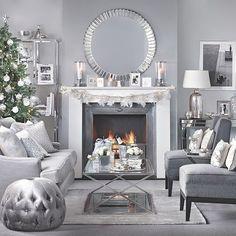 Inspirations pour Noël : de blanc et d'argent