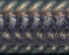 Space Surfer Stereogram by 3Dimka