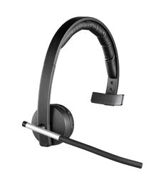 Logitech Wireless Headset Mono H820e#  matte black and Stainless