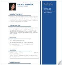 Resume Template For Ms Word  Words Resume Templates And Resume