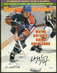 eec866157 Oilers Wayne Gretzky Authentic Signed Sports Illustrated 1982 JSA  F77227.