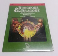 B7-RAHASIA-9115-SEALED-AD-D-D-D-TSR-Adventure-Module-Dungeons-Dragons-Basic-Game