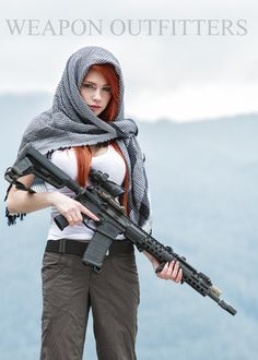 "Accidental Kim Possible cosplay thanks to wardrobe.""Kim found her clandestine work after college in the post 9/11 world… a bit TOO satisfying""Rin with a pre-production prototype BE Meyers/Silencerco 249 Saker, and pre-production prototype Hodge Defense AU-MOD 2.Don't know if you heard, but aside from the Aluminum Lithium receivers and rail (stronger, lighter, more corrosion resistant than standard 7075), Hodge's production rifles with feature 9310H steel, cold hammer forged barrels. FIRST…"