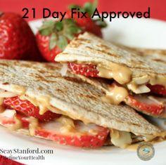 21 Day Fix Snack Recipes