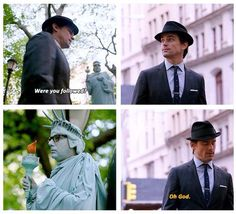 White Collar-- Mozzie and one of his many disguises White Collar Tv Series, White Collar Neal, White Collar Quotes, Matt Bomer White Collar, Movies Showing, Movies And Tv Shows, Neal Caffrey, Cop Show, Comic