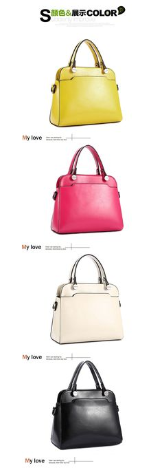 Aliexpress.com : Buy Hot Sale Mango Bag 2015 New Leather Shoulder Bag Fashion Shell Messenger Handbag 4 Colors Beige Black Rose Red Yellow Free Ship from Reliable Top-Handle Bags suppliers on Sugar Girls | Alibaba Group