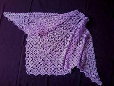 Фиолетовая шаль