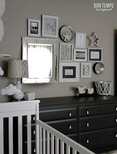 Love this neutral nursery - Wall Decor