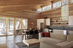 Compact One-Room Cabin in Massachusetts is Impressive