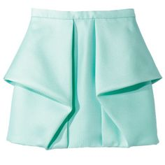 Tibi Polyester-Acrylic-Wool Skirt