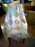 Blog            : Our Easy Rag Quilt Tutorial