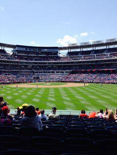 Nationals ballpark may 2014