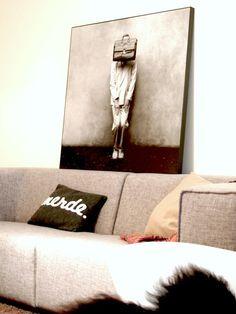 love the pillow, love the art