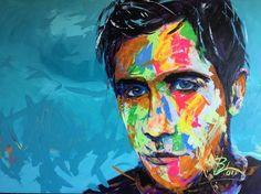 Blair Logan Artist - Personalised Portraits | Portraits, Paintings, Artists, Colourful, Contemporary, art