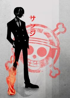 sanji zoro luffy one piece anime manga skull japan japanese fire black leg cig smoke crimson red cool pirate hunter cross bones games tv movie series Anime and Manga