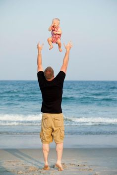 Jeff Reeves Photography--Raleigh, NC Jeff captured this awesome moment of my husband and son in 2012, still one of my favorites! Wrightsville Beach , NC Baby Beach Photos