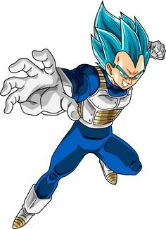 Vegeta SSJ Blue #2 by SaoDVD on DeviantArt
