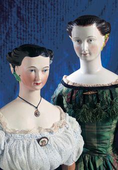 Lady Dolls of the 19th Century: 13 26' Very Rare 'Morning Glory'