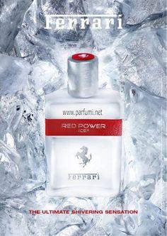 С бутилка с формата на матирано кубче лед, Ferrari Red Power Ice е свежа интерпретация на концепцията за Red Power. Ароматът е ароматен и плодов, с изблик на цитрусови плодове. Прилив на ледена свежест.