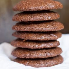 Dark Chocolate Quinoa Cookies - with a recipe + a video