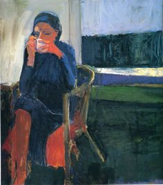 Richard Diebenkorn was an American painter who came to define the California school of Abstract Expressionism of the early Although h. Richard Diebenkorn, Art And Illustration, Figure Painting, Painting & Drawing, Watercolor Paintings, Bay Area Figurative Movement, Frank Stella, Georges Braque, Wayne Thiebaud