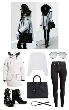 """""""instagram: florencia95"""" by florencia95 ❤ liked on Polyvore featuring Acne Studios, H&M, Yves Saint Laurent, ootd and BloggerStyle"""