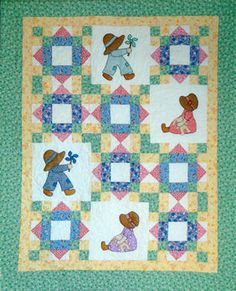 Sue and Sam Quilt Pattern Download by Cottage Quilt Designs, available now at connectingthreads.com for just $9.00 »