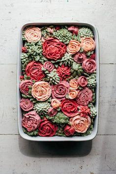 tasty treats - Rose Cake