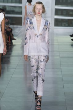 Antonio Berardi collection printemps-été 2015 #mode #fashion