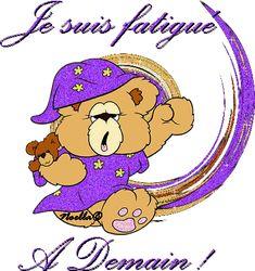 Je suis fatigué. À demain! Good Night, Good Morning, Les Gifs, Gif Photo, Gif Animé, Smurfs, Animation, Messages, Cute