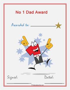 No. 1 Dad Award