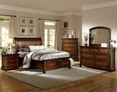 Cumberland Queen Sleigh Storage Bed by Homelegance - With an affordable price and free home delivery, Coleman Furniture will leave you satisfied. Bed, Furniture, Bedroom Set, Platform Bedroom, King Platform Bed, Murphy Bed Plans, Bed Storage, Homelegance, Bedroom Furniture