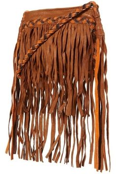 Tan Leather Fringed Cross Body Bag - Cross Body Bags - Bags & Purses - Accessories - Topshop - StyleSays