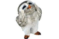 Fairy Garden Miniature Laughing Owl - My Fairy Gardens