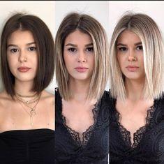 Which Hair Colour, Hair Places, Daily Hairstyles, Medium Hairstyles, Summer Hairstyles, Messy Hairstyles, Pretty Hairstyles, Wedding Hairstyles, Langer Bob