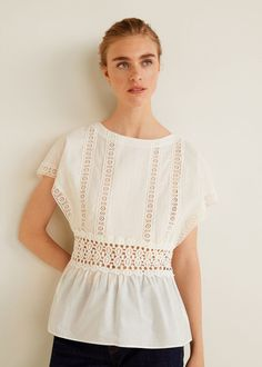 MANGO presents you its new collection. Have a look at our online catalogue and discover the latest fashion trends surfing along the jeans, T-shirts and . Mango, Autumn Fashion 2018, Latest Fashion Trends, Cotton Fabric, My Style, Shirts, Women, Spain, Hand Washing