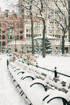 union sq in snow