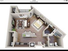 [ Space Saving Studio Layout Interior Design Ideas Studio Apartment Layout  Idea Interior Design Ideas ]   Best Free Home Design Idea U0026 Inspiration