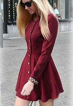 Price:$42.99 Material: Wool Blend Color: Black / Wine Red Single breast leopard print fashion crewneck slim casual trench coat outerwear