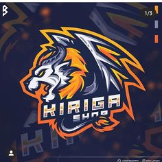 GRAPHIC WARRIOR (@design_inspiration_ideas) • Foto dan video Instagram Game Logo Design, Sports Team Logos, Logo Inspiration, Mythology, Scary, Badge, Beast, Wildlife, Fantasy