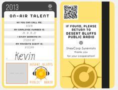 Kevin's DBPR ID card by slodwick