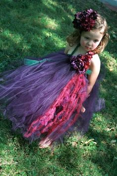 Reserved for Gina BrashearsPlum Tutu DressMany by BellaBeanCouture, $125.00
