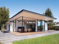 Meier Architekten kleiner Pavillon Zürichsee Aussenansicht