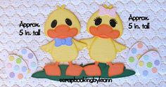 Here are the newest Easter paper piecing sets on Ebay :)   Easter Boy & Lamb Set    Easter Girl & Lamb Set   Easter Duck Set   Patterns used...