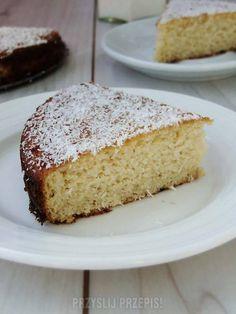 Dietetyczne ciasto z mąki kokosowej