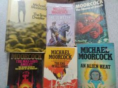 The Time Dweller UK first edition & 5 more paperbacks by Michael Moorcock